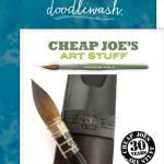 Doodlewash Cheap Joe's 30th Anniversary Giveaway – Stand Chance to Win Cheap Joe's 30th Anniversary Size 12 Quill Kolinsky Sable Brush