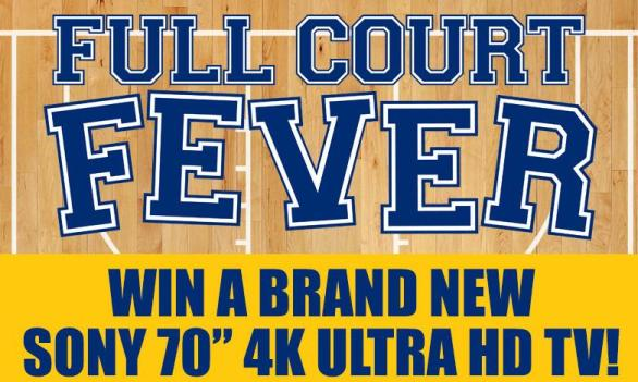 WTSP Full Court Fever Sweepstakes– Stand Chance to Win a 70-inch LED, 4K Ultra HD TV Prize