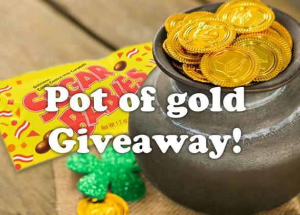 Tootsie Roll Pot of Gold Giveaway – Stand Chance to Win a 12 Count Box of Sugar Babies Hot Cocoa