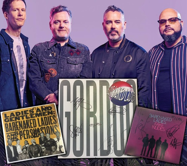 Warner Music Canada Contest– Stand Chance to Win 1 of 3 Autographed Barenaked Ladies Albums Prize