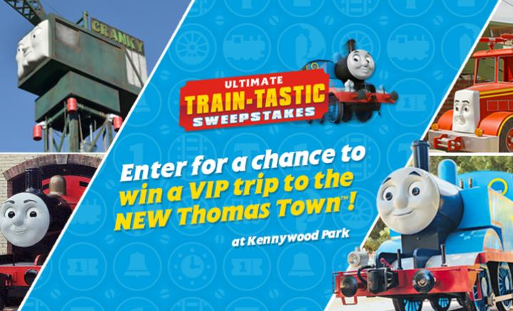 Thomas & Friends Ultimate Train Tastic Sweepstakes - Enter For Chance To Win A Trip To New Thomas Town At Kennywood Park