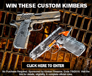 Ballistic Sweepstakes-Chance To Win A Custom Kimber KHX Pro .45 ACP Pistol or A Kimber KHX Pro OR 9mm Pistol