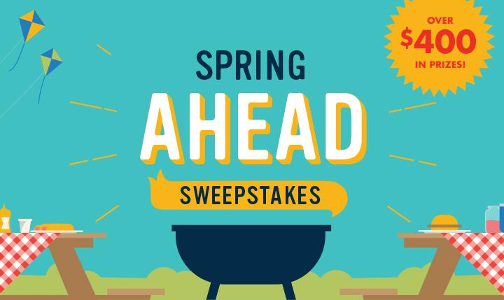 The Save-A-Lot 2018 Spring Sweepstakes-Stand To Win A $300 Gift Card, Mason Jars, Mosquito Repellent Bracelets, Red and White Tablecloths, Pint Jars, A Wood Washer, Toss Game Set