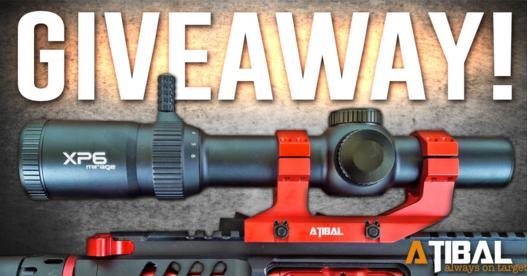 ATIBAL Quick Detach Scope Mount Giveaway – Stand Chance To Win A Brand New XP6 1-6x24 Focal Plane Scope, Competition Red