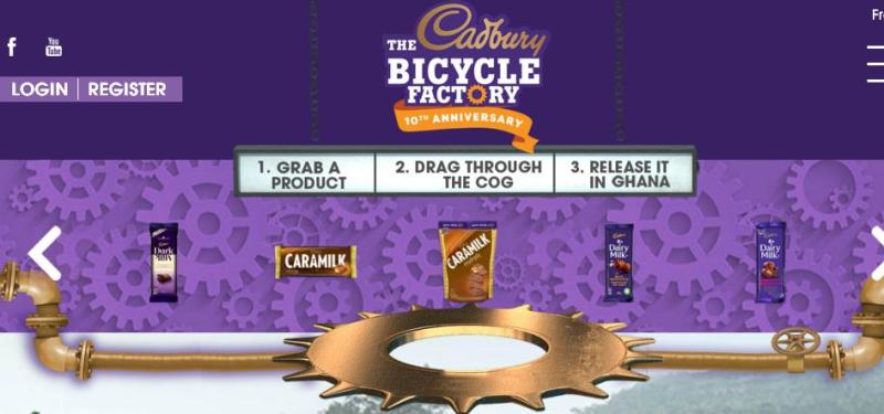 Cadbury The Bicycle Factory 10th Anniversary Offer – Stand Chance To Win Up To 1000 Bicycles For People In Ghana, Africa