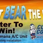 The Can't Bear the Heat 2018 Sweepstakes – Stand Chance to Win A New Amana A/C Unit Including Installation