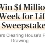 PCH Sweepstakes-Enter To Win $1 Million and $1,000 A Week For Life