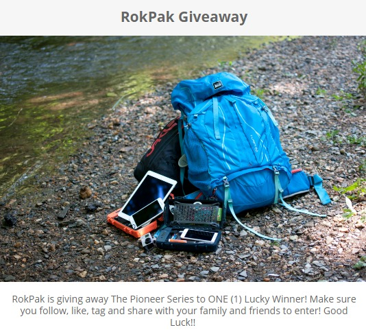 RokPak Giveaway-Stand A Chance To Win The Pioneer Series