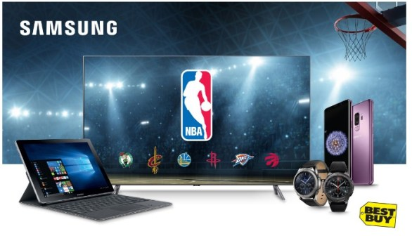 Best Buy Canada and Samsung Contest-Enter To Win A Trip To NBA Finals from Samsung and Best Buy