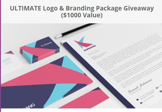 Logo Coast Ultimate Logo & Branding Package Giveaway-Chance To Win Package Including Business Card Design, Letterhead Design, Envelope Design