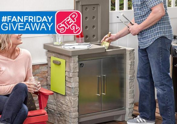 The Step 2 FanFriday Giveaway – Stand Chance to Win A Rain Showers Splash Pond Water Table