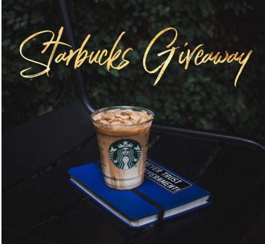 The Starbucks Giveaway – Stand Chance To Win $100 Starbucks Gift Card Prize