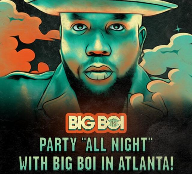 Party All Night with Big Boi in Atlanta Sweepstakes – Stand Chance to Win A Trip To Atlanta, GA