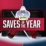 The Janes Saves of the Year Contest-Win One Hundred Forty Prizes Ten Signed Goalie Sticks, CIBC Collectors Coins, 100 Janes For A Year Prizes