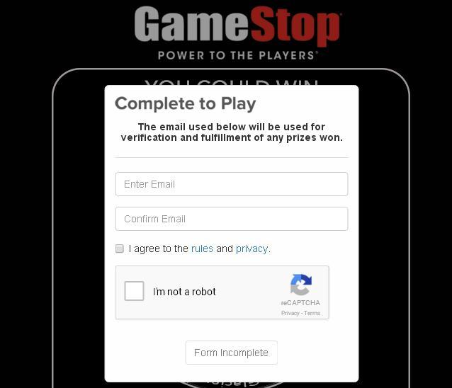 Gamestop power up rewards prizes