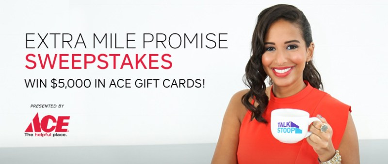 USA Network Extra Mile Promise Sweepstakes-Chance To Win $5,000 Ace Gift Card