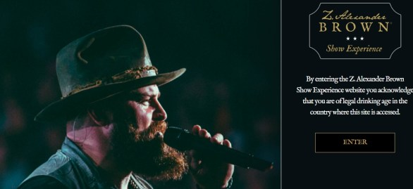 Alexander Brown Wines Show Experience Sweepstakes - Enter To Win A Trip to See Zac Brown Band in Concert