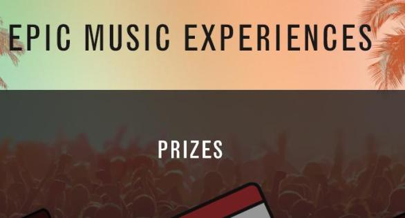 The Bacardi Summer Mix Sweepstakes – Chance To Win Tickets To A Participating Live Nation Produced And Promoted Concert