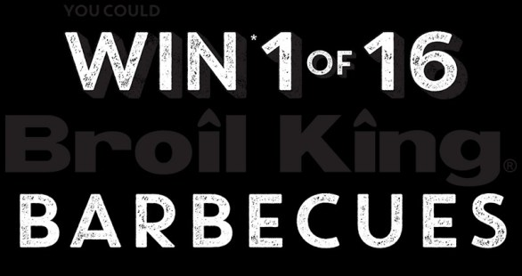 Conagra Foods Celebrate Summer Contest - Stand A Chance To Win 1 Of 16 Broil King Barbecues