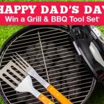 Direct Auto Insurance Dad's Day Sweepstakes – Stand Chance To Win A Jumbo Old Smokey BBQ And Utensils