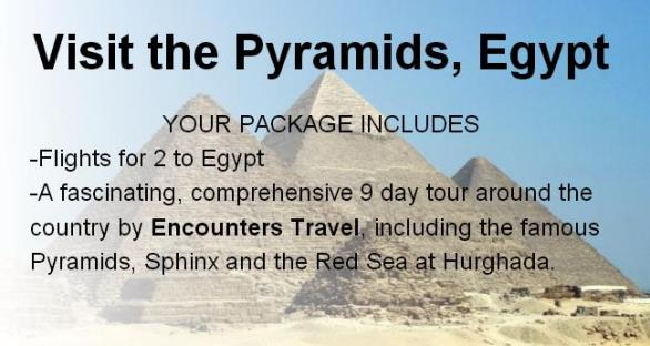 Deal Wiki Trip To Egypt Sweepstakes – Chance To Win A Trip To Egypt