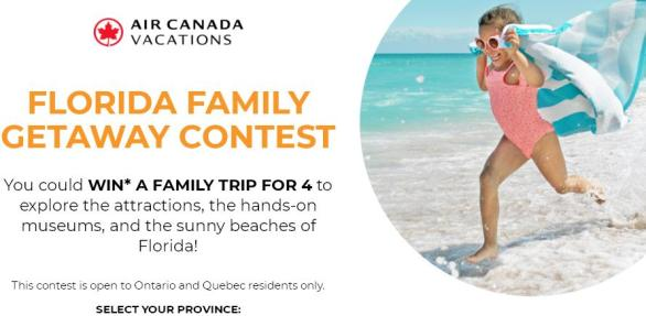 Breakfast Television Florida Family Getaway Contest – Stand Chance To Win A Trip To Florida