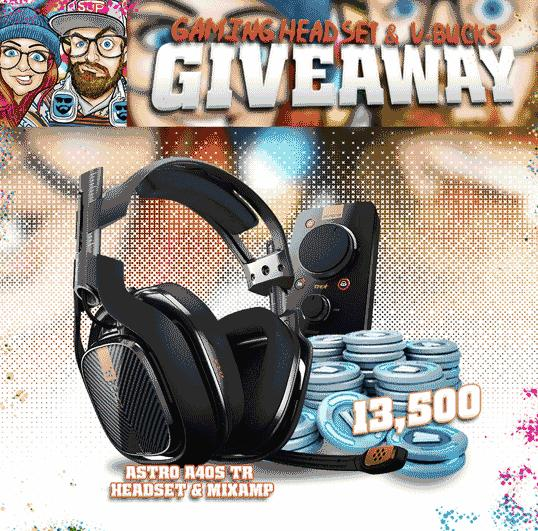 Gaming Headset & V-Bucks Giveaway – Stand Chance to Win Astro A40s + Mixamp And 13,500 Fortnite V-Bucks