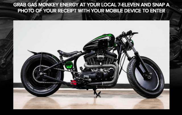 Gas Monkey Sweepstakes - Chance To Win Gas Monkey T-shirt, Energy Drinks, An Autographed Item