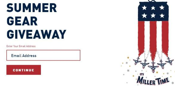 Miller Lite Summer Gear Giveaway – Win 5 Uber Code, Cannypack, Beer Apron, Sandals
