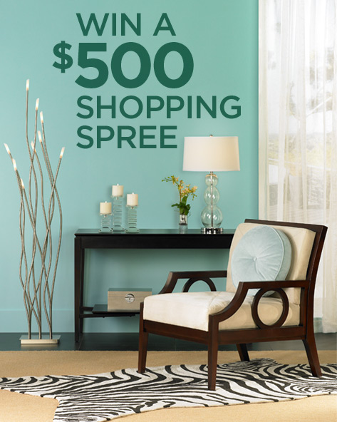 Lamps Plus $500 Sweepstakes - Stand A Chance To Win $500 Shopping Spree