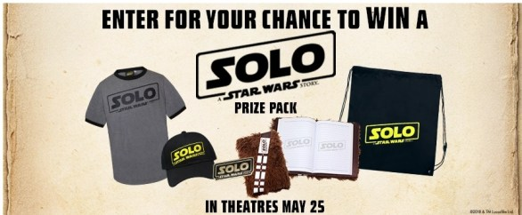 Landmark Cinemas Contest - Chance To Win a Solo A Star Wars Story Prize Pack