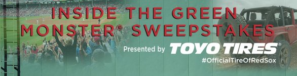 MLB Inside the Green Monster Sweepstakes - Chance To Win A Green Monster Experience For Two