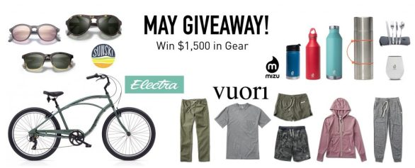 Mizu May Giveaway - Stand A Chance To Win $1,500 Worth Of Gear
