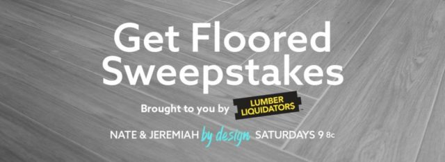 Nate & Jeremiah by Design Sweepstakes - Chance To Win $5,000 Gift Card
