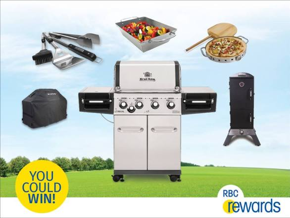 RBC Rewards Summer BBQ Contest - Chance To Win A Broil King Ultimate Backyard Prize Pack
