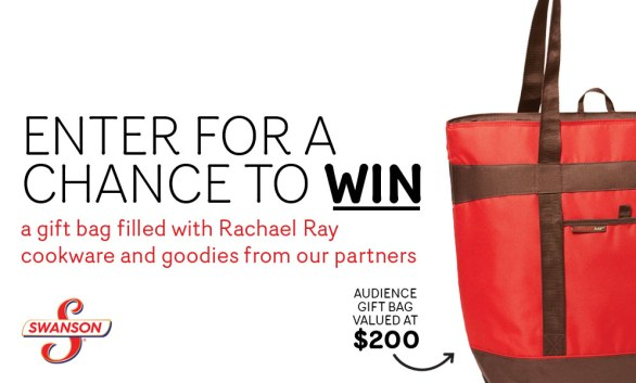 Rachael Ray Every Day Gift Bag Sweepstakes - Chance To Win An Audience Gift Bag
