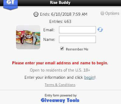 Rise Buddy Giveaway – Stand Chance To Win Rise Buddy