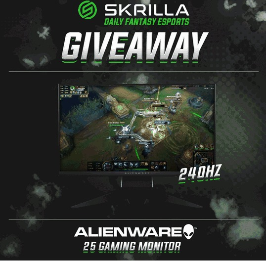 Alienware 240Hz Gaming Monitor Giveaway-Stand A Chance To Win A 240Hz Gaming Monitor