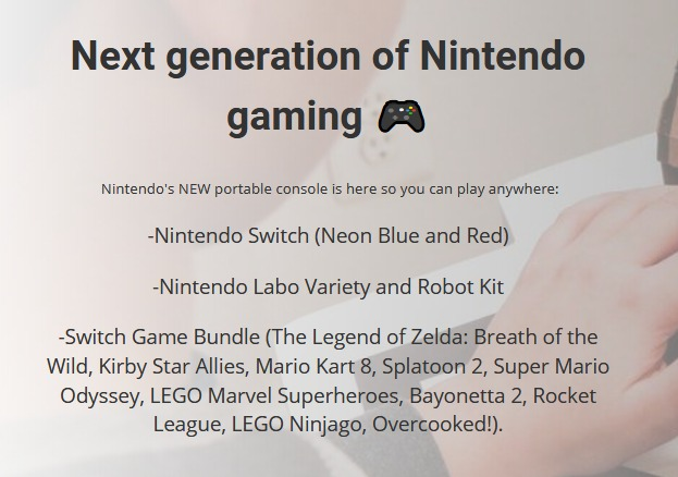 Nintendo Switch Giveaway-Chance To Win $1500 Grand Prize, Nintendo Labo Variety and Robot Kit