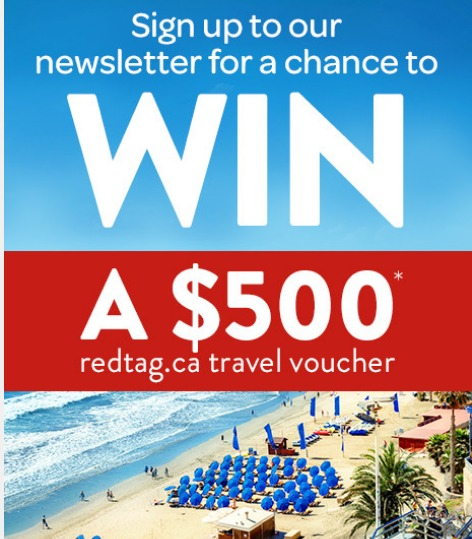 Redtag Newsletter Contest - Stand A Chance To Win $500 Redtag Travel Voucher