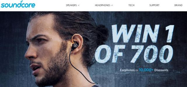 Soundcore Anker Earphones Giveaway– Chance To Win 350 Spirit Earphones, 350 Spirit X Earphones, 10,500 Discounts On Various Anker and Soundcore Audio Products