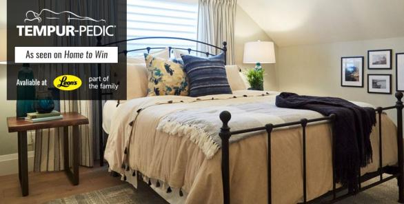 Tempur Pedic Home To Win Contest – Stand Chance To Win TEMPUR-ES Embrace Queen Mattress, A Queen Adjustable Base, Pillows