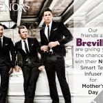 The Tenors Mother's Day Contest – Stand Chance To Win A Breville Smart Tea Infuser
