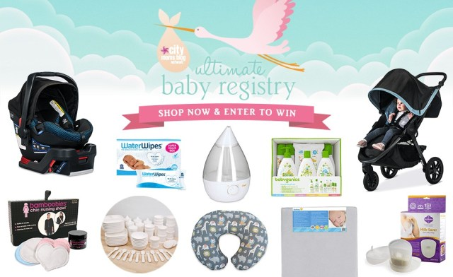 City Moms Blog Network's Ultimate Baby Registry 2018 Giveaway – Stand Chance To Win Some Of The Best Products For Babies