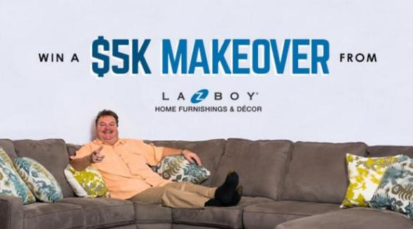 iHeartRadio La-Z-Boy Room Makeover Sweepstakes – Stand Chance To Win A $5,000 Room Makeover Prize
