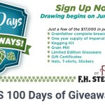 FHS 100 Days of Giveaways – Stand Chance To Win Over $17,000 In Prize