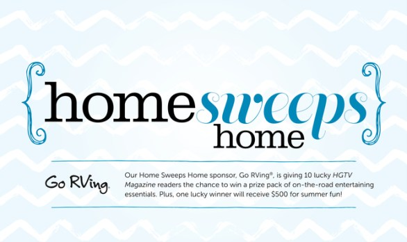 HGTV Magazine Home Sweeps Home Sweepstake - Chance To Win A Prize Pack And $500