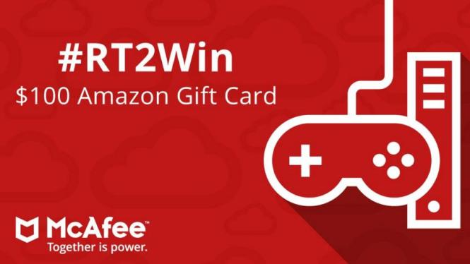 McAfee Home Giveaway – Win A $100 Amazon Gift Card - ContestBig