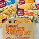 National Macaroni & Cheese Day Sweepstakes – Chance To Win Free Macaroni & Cheese For A Year