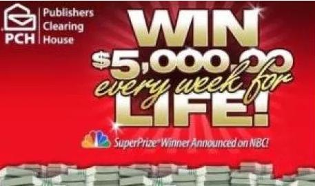 PCH ActNow Super Prize Sweepstakes – Win A $1,000,000 Cash Prize
